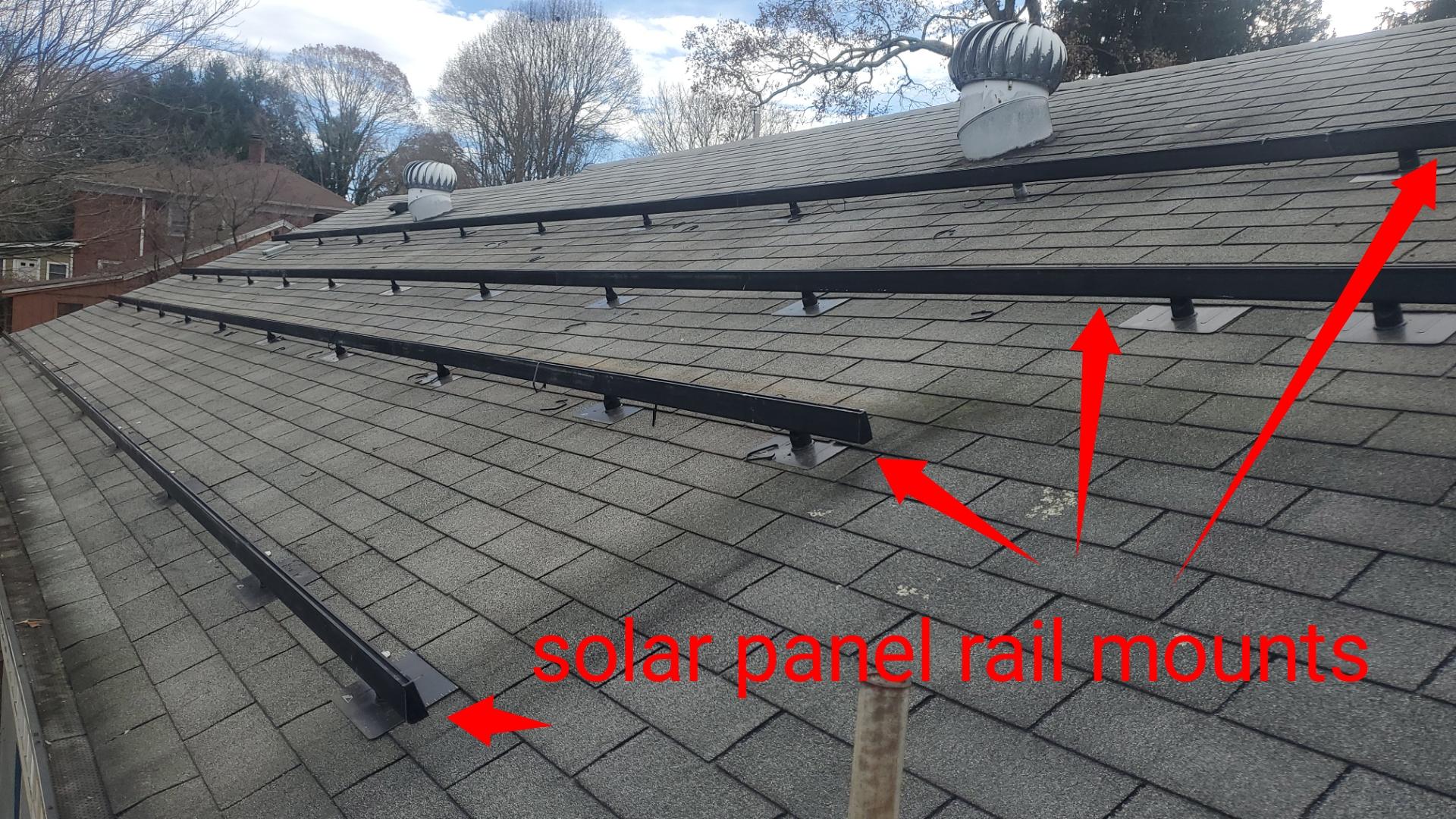 Solar mounts