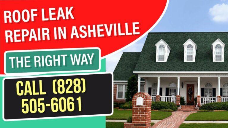 roof leak repair asheville nc