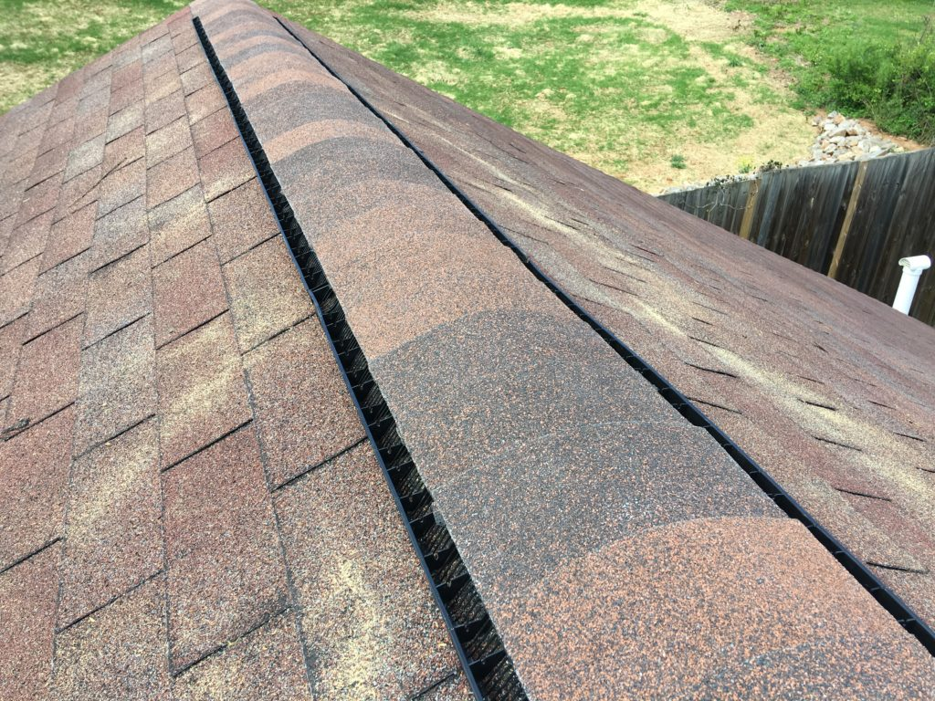 Installing new Ridge vents