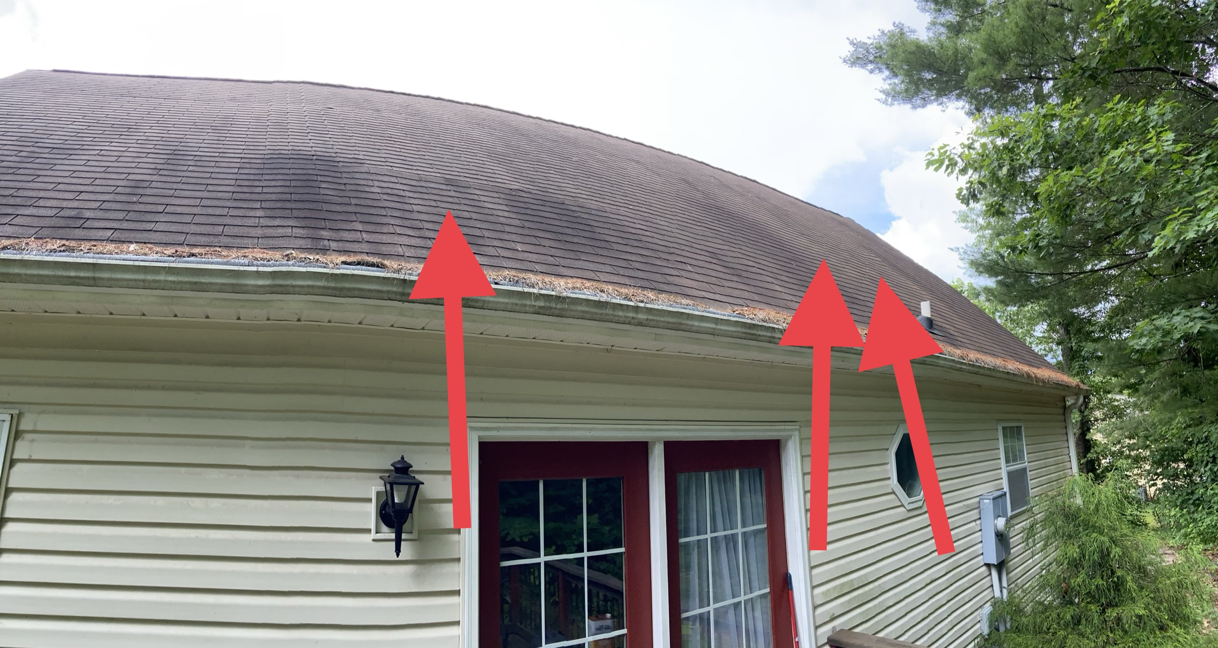 The Back of Roof has Deck Board Problems