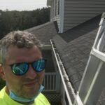 This is a picture of a roof inspection of an old roof in Weaverville nc