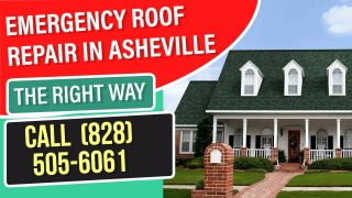emergency roof repair asheville nc