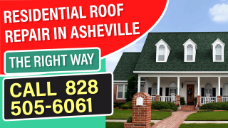 residential roof repair asheville nc