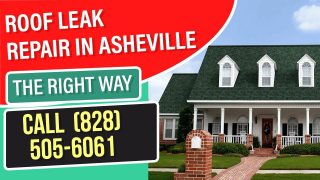 roof leak repair asheville nc